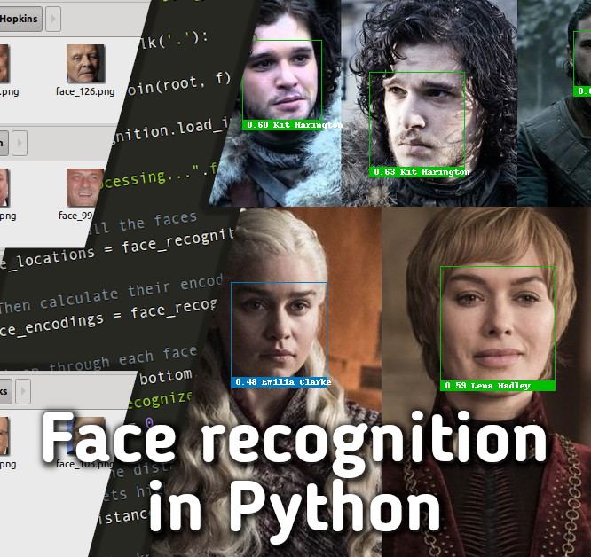 Easy face recognition in 2021 using Python